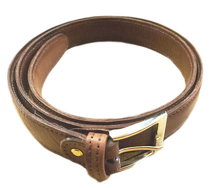 DOUBLE SIDED LEATHER BELT