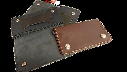 Classy Biker leather Tobacco pouch