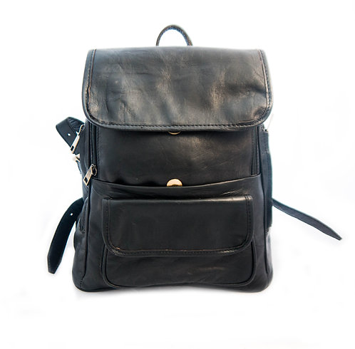 UNISEX TREND MINI backpack leather bag with multi-