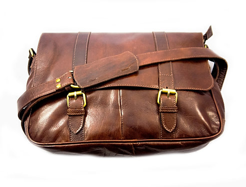 Stylish Smart Messenger leather bag