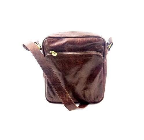 Leather travel / trend Messenger Bag