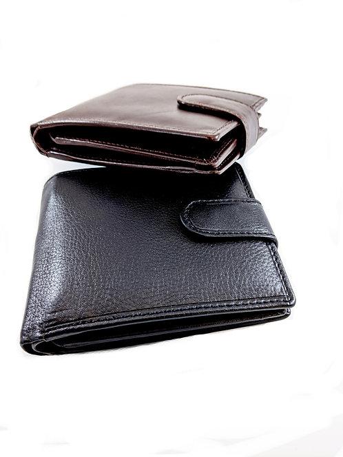 Multi slots Pockets bifold leather Wallet