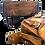 Thumbnail: Mini goat leather vintage messenger bag  vintage Brown-Tan