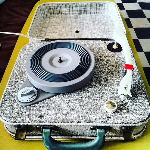Late 1950's PYE Portable Turntable