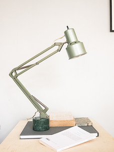 Upcycled lamp