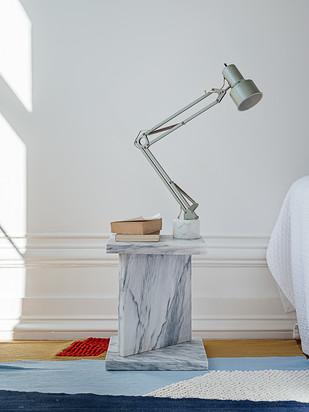 Pedra &  upycled lamp