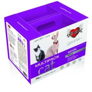 Disugual multipack Mature gatto 2kg