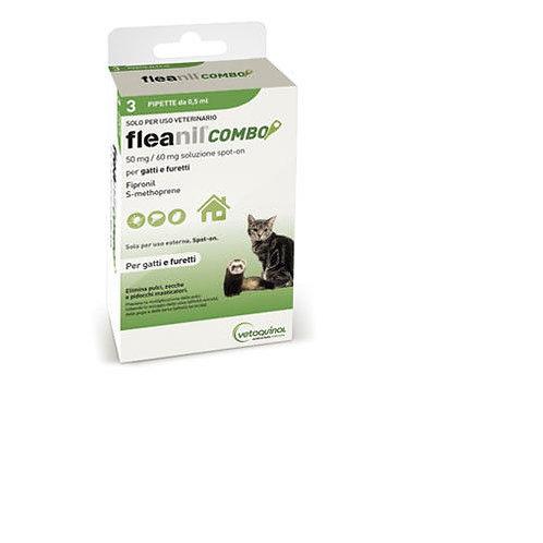 FLEANIL COMBO gatti 3pip