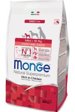 Monge puppy mini pollo 3kg