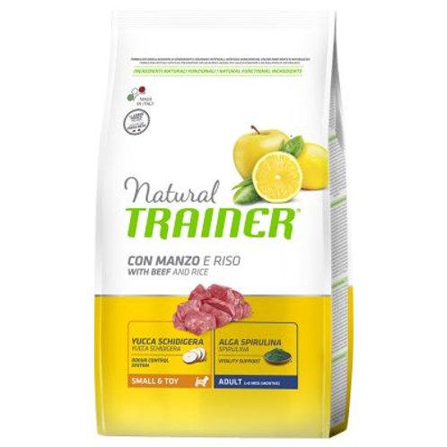 Natural trainer adult mini Manzo  2Kg