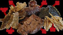 Snack naturali essiccati