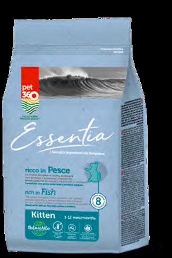 ESSENTIA KITTEN 1-12 MESI - RICCO IN PESCE