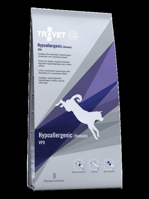 Trovet hypoallergenic cervo per cani 3kg