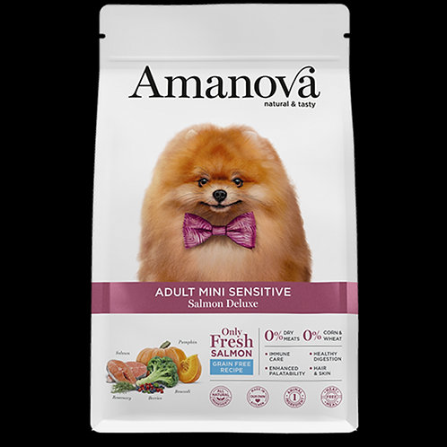 Amanova adult mini sensitive salmone