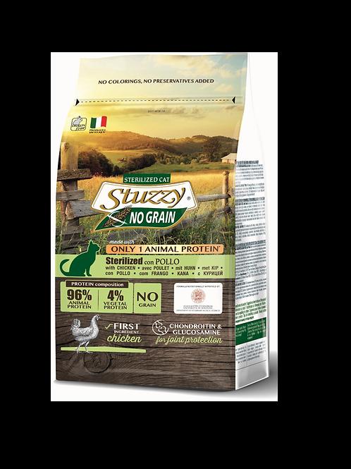 Stuzzy grain free cat sterilised