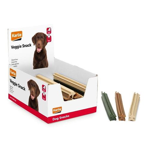 Veggie Snack Barra Vegetale Per Igiene Dentale Gluten Free Gusti Mix 24 cm