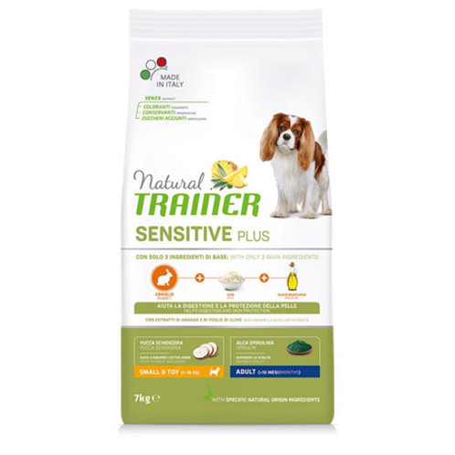 Natural trainer sensitive adult mini Coniglio 2kg