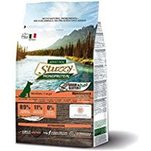 Stuzzy medium/maxy grain free salmone 3kg