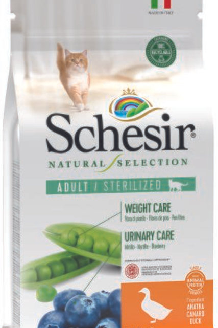 Schesir Natural Selection cat Sterilized Tacchino