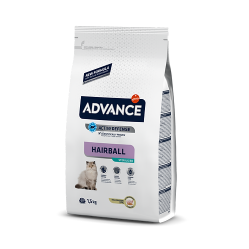 Advance hairball sterilised