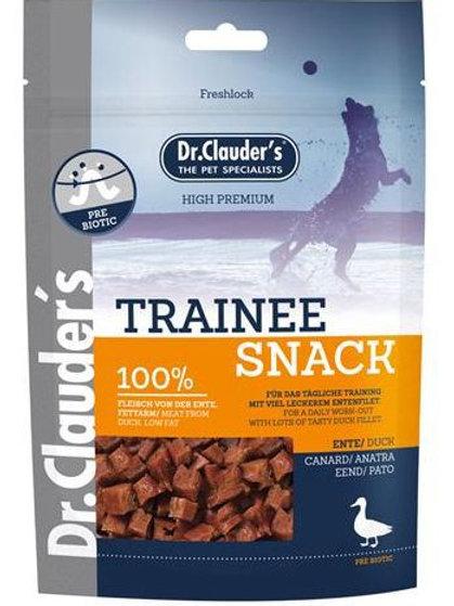 Dr clauder's snack cubetti di anatra 80g