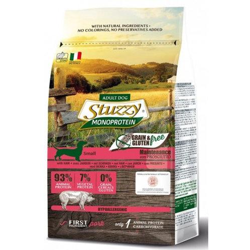 Stuzzy small prosciutto grain free 800g