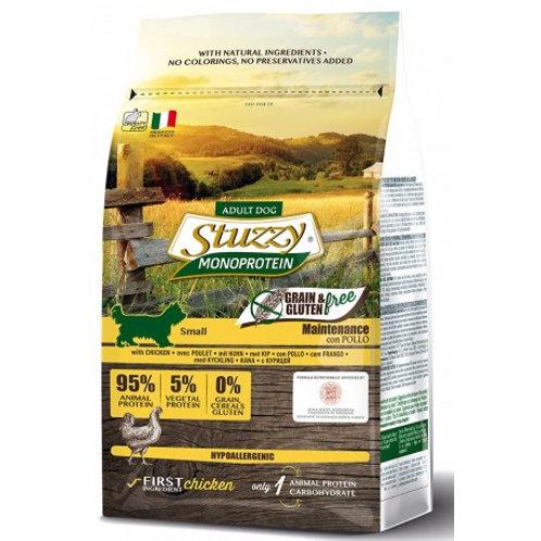 Stuzzy small pollo grain free 800g