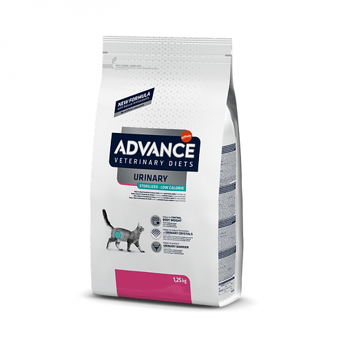 Advance sterilized low calorie urinary gatto