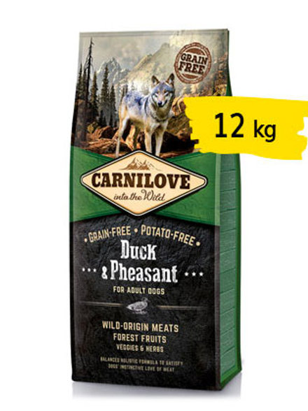 Carnilove adult anatra e fagiano 12 kg