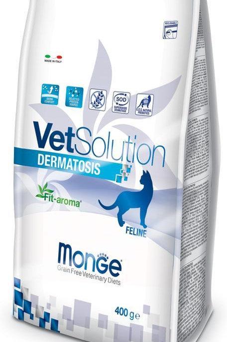 Monge Vetsolutiona Dermatosis gatto 400g