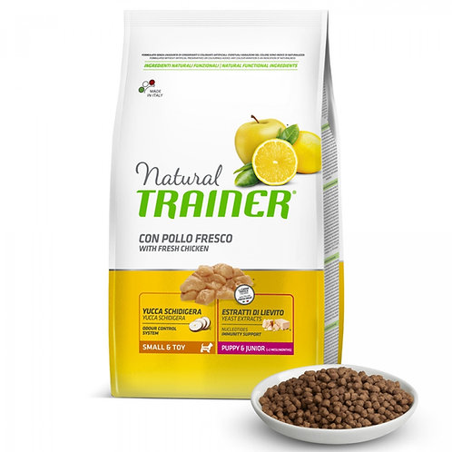 Natural trainer puppy mini pollo 2Kg