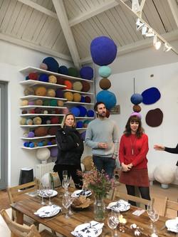 23.01.17- Idris Khan studio visit