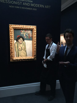 28.11.15- Marina Picasso, Sotheby's