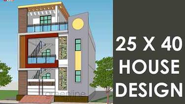 25X40 feet House design