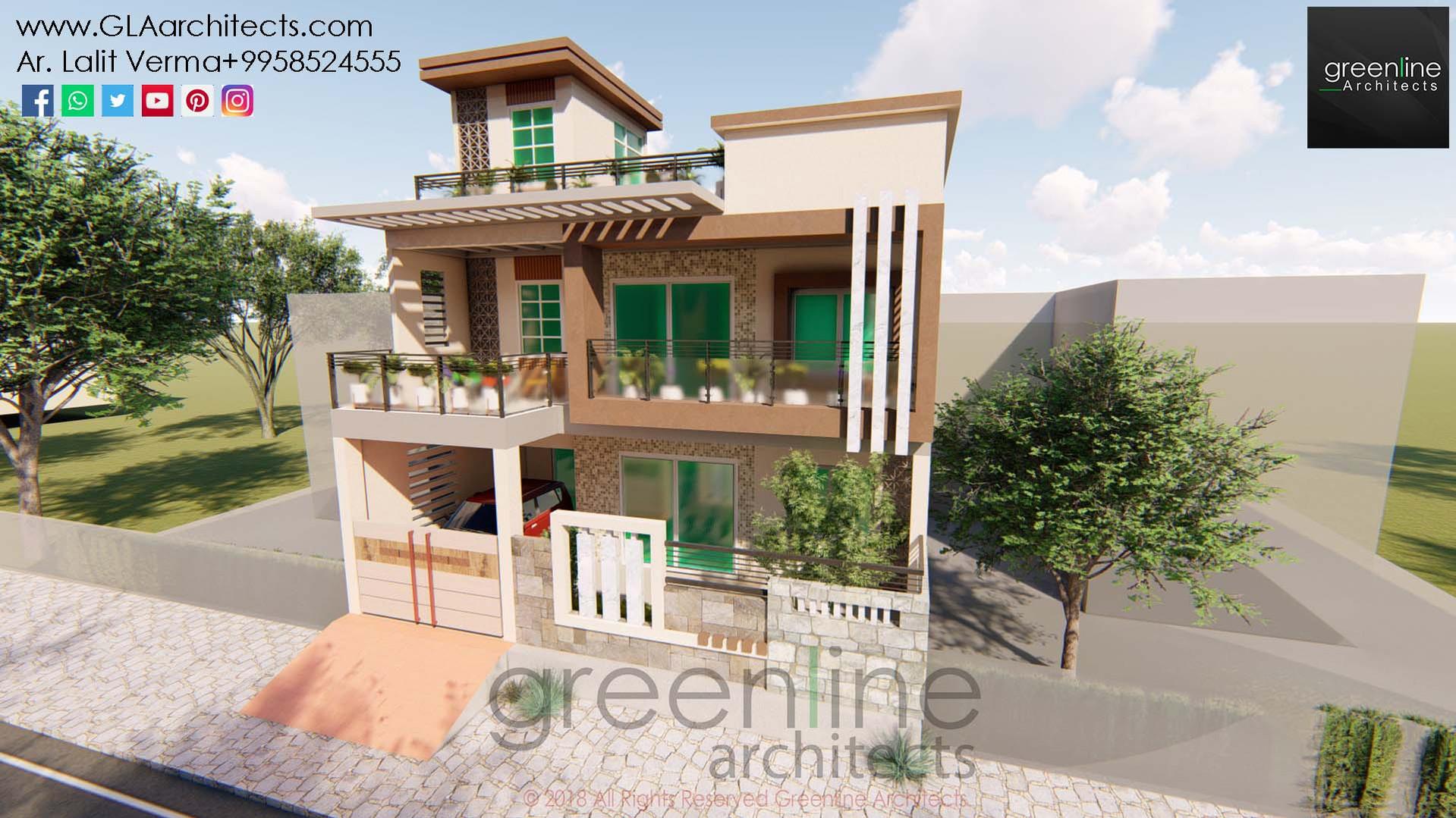 35X70 Feet House Design in Ansal (5).jpg