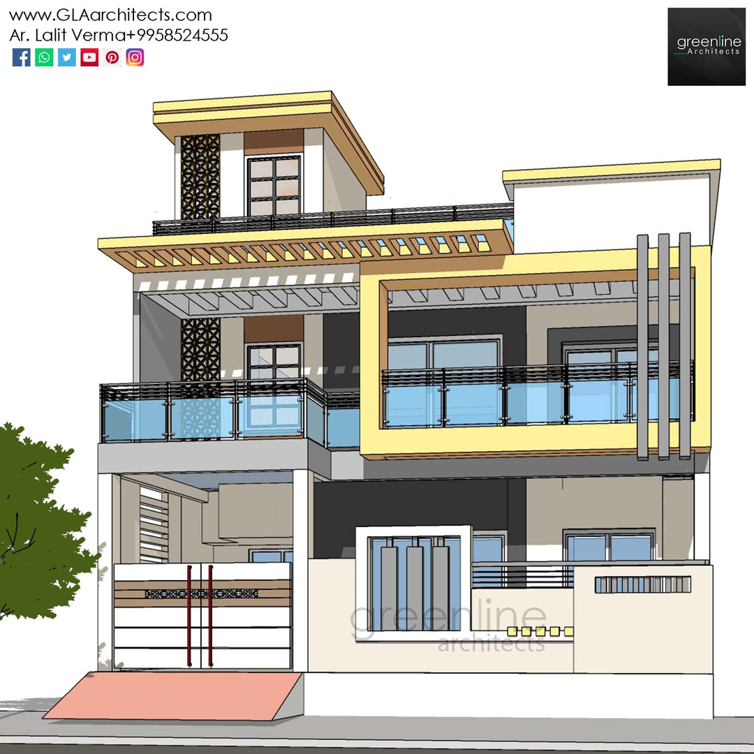 35X70 Feet House Design in Ansal (7).jpg