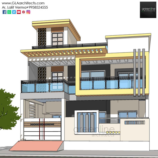 35X70 Feet House Design in Ansal (7).jpg