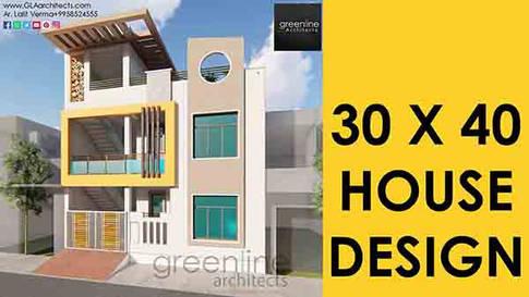 30X40 feet House design