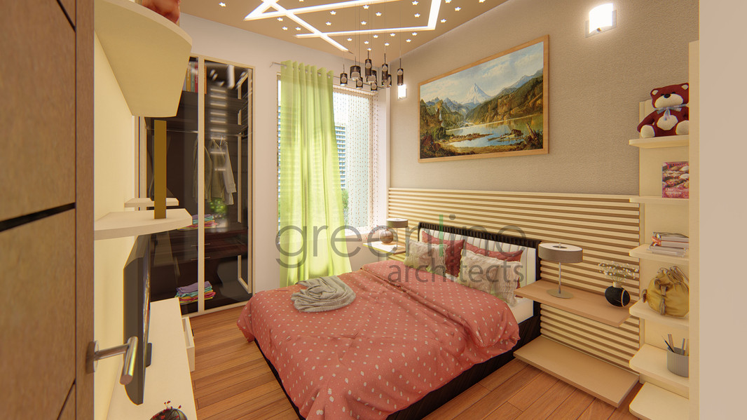 Apartment Interior at Paarth aadyant, Lucknow