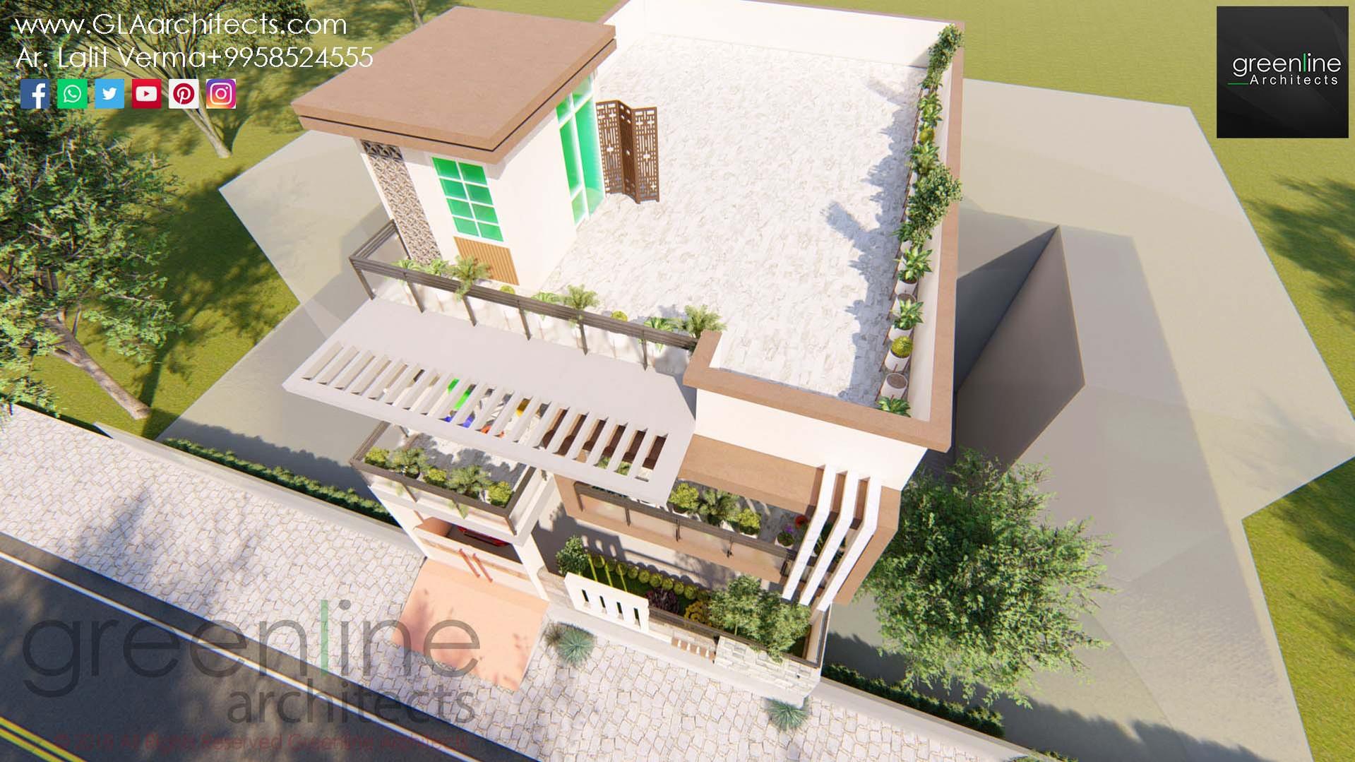 35X70 Feet House Design in Ansal (6).jpg
