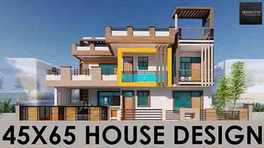 45X65 feet House design