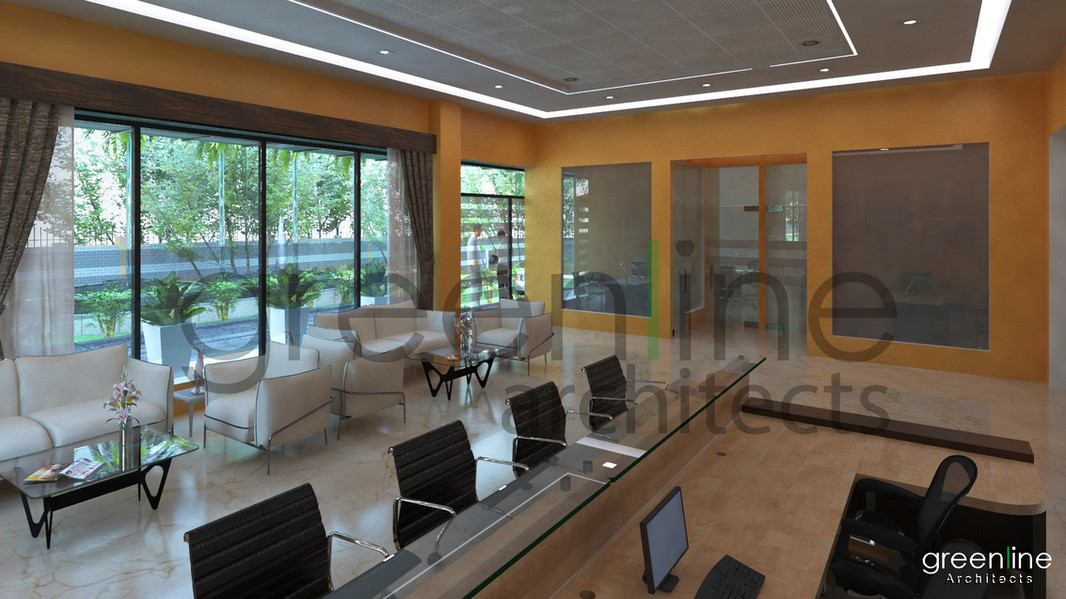 Reception Area Interior, Kriti Public School