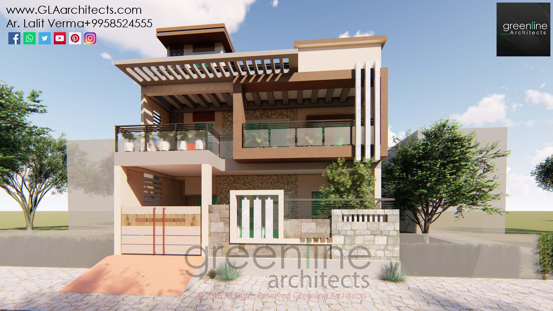 35X70 Feet House Design in Ansal (4).jpg