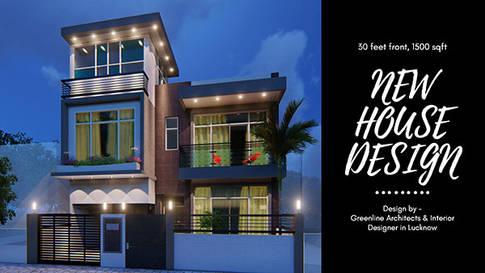 30X50 feet House design, 1500 sqft House