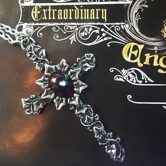 Alchemy Gothic England P804 Ivy Cross Pendant