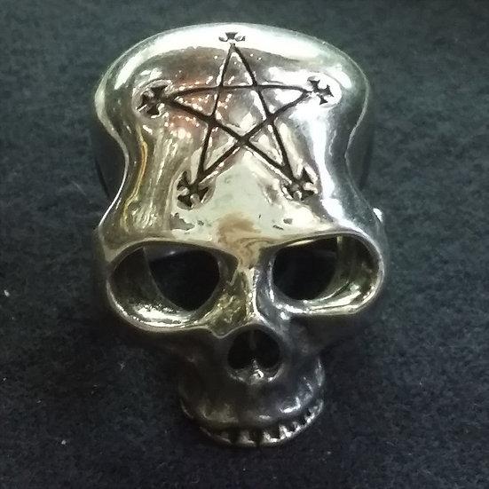 Alchemy Gothic England R204 Necrogram Ring
