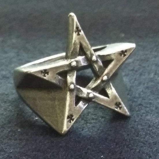Alchemy Gothic England R175 Pentagration Ring