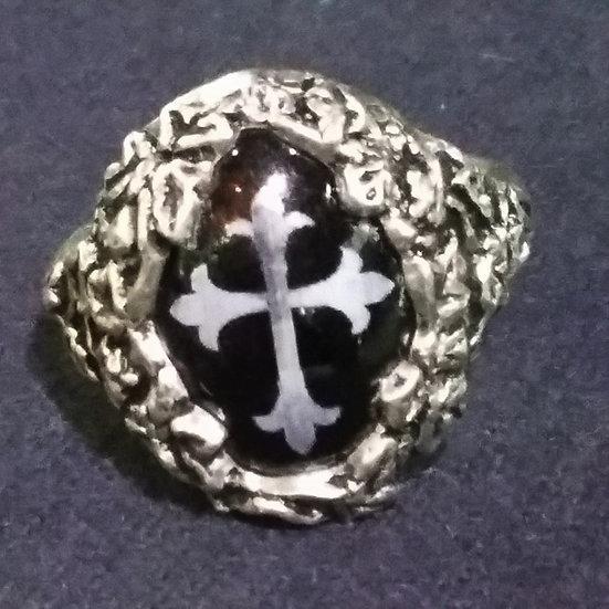 Alchemy Gothic England R76 Cemetary Ring