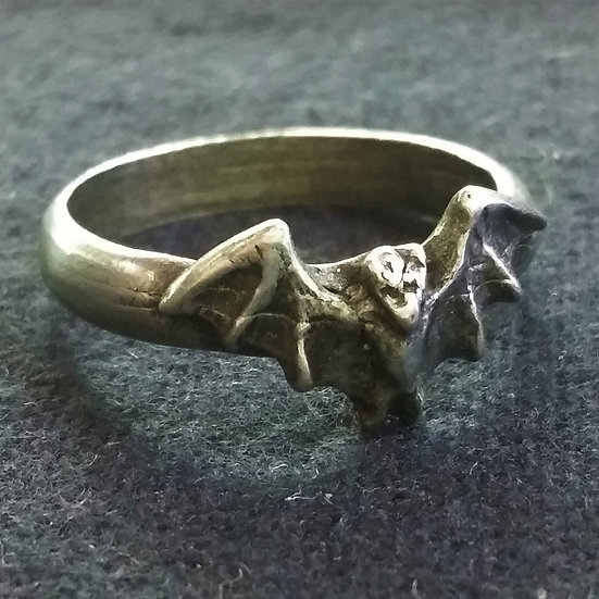 Alchemy Gothic England R79 Fledermaus Ring