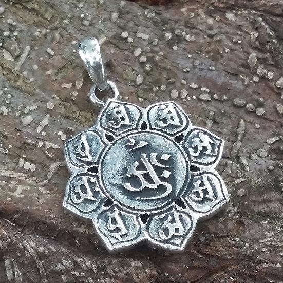 Buddhist Zodiac Pendant 925 Sterling Silver